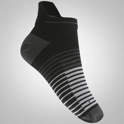 Meia Nike Running Dri Fit Lightweig - Masculina - PRETO/CINZA ESC