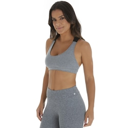 Top Fitness Oxer Large - Adulto - CINZA/PRETO