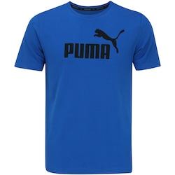 Camiseta Puma Ess No. 1 Logo - Masculina - AZUL/PRETO