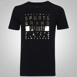 Camiseta Puma Foil - Masculina - PRETO