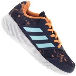 tenis-adidas-quick-run-infantil-azul-escuro