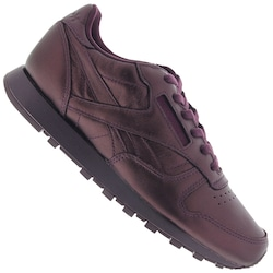 Tênis Reebok CL Leather Face Fashion - Feminino - VINHO