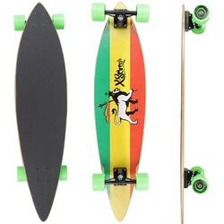 longboard-pintail-x7-reggae-vermelhoverde