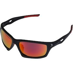 Óculos para Ciclismo Oxer HS14018 - Adulto - PRETO/VERMELHO