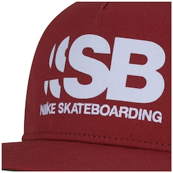 17b97681bcf7d Boné Aba Reta Nike SB Cut - Snapback - Trucker - Adulto