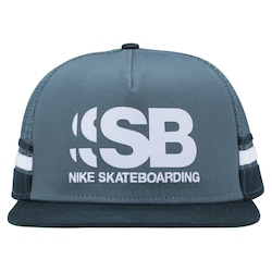 Boné Aba Reta Nike SB Cut - Trucker - Snapback - Adulto - Verde/Verde Esc