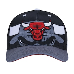 Boné Adidas Nba Chicago Bulls - Snapback - Adulto - Preto vermelho 5bf1a1d3262