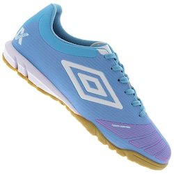 chuteira-futsal-umbro-accuro-club-adulto-azul-claro