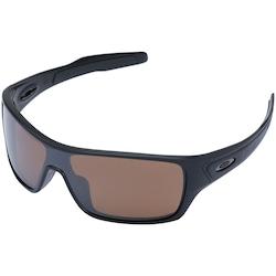 2c655a4208575 óculos De Sol Oakley Turbine Rotor Iridium Polarizado - Unissex - Preto