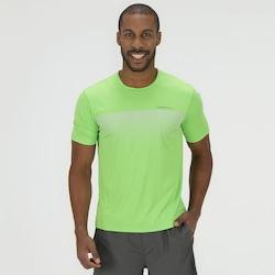 Camiseta Oxer Quadri Moviment - Masculina - VERDE CLARO