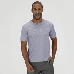Camiseta Oxer Reflective Print - Masculina - CINZA