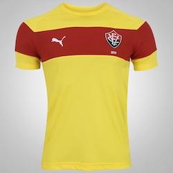 Camisa de Treino do Vitória 2016 Puma - Masculina - AMARELO/VERMELHO