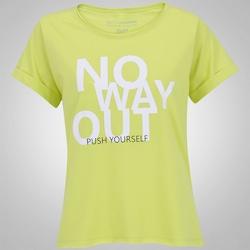 Camiseta Oxer Active Way - Feminina - VERDE CLARO