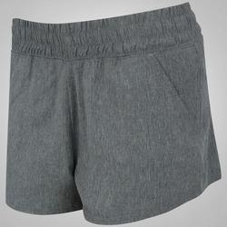 Shorts Oxer Boxer Textura - Feminino - CINZA