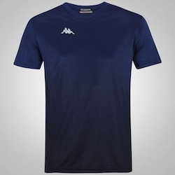 Camisa Kappa Clair - Masculina - AZUL ESC/PRETO
