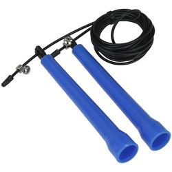 Corda de Pular Oxer Speed Rope - AZUL/PRETO