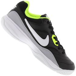 Tênis Nike Court Life - Masculino - PRETO/CINZA CLARO