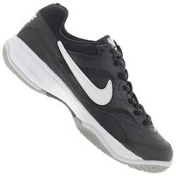 Tênis Nike Court Life - Masculino - PRETO/BRANCO