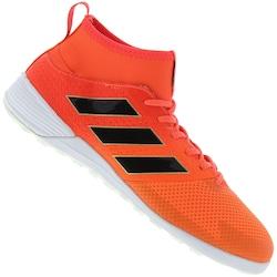 Chuteira Futsal Adidas Ace 17.3 Primemesh In - Adulto - Laranja Esc preto f2c8a78a2e39f