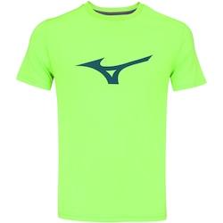 Camiseta Mizuno Run Spark - Masculina - VERDE CLA/VERDE