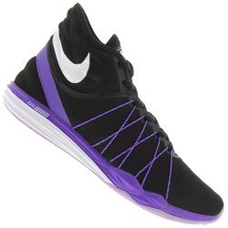 Tênis Nike Dual Fusion TR Hit Mid - Feminino - PRETO/ROXO