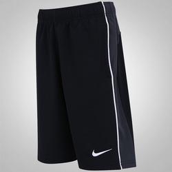 Bermuda Nike Acceler8 - Infantil - PRETO/CINZA ESC