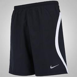 Bermuda Nike 2 In 1 7IN - Masculina - PRETO/BRANCO