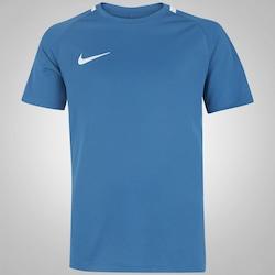 Camiseta Nike Academy - Infantil - AZUL ESC/BRANCO
