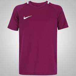 camiseta-nike-academy-infantil-vinho