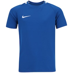 Camiseta Nike Academy - Infantil - AZUL ESC/CINZA CLA