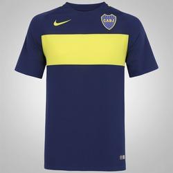 Camisa Boca Juniors I 16/17 Nike - Masculina - Azul Esc/Amarelo