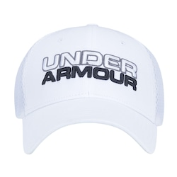 e3e8ae5ce04 BONÉ ABA CURVA UNDER ARMOUR SPORTS STYLE - FECHADO - ADULTO - BRANCO -  88423901