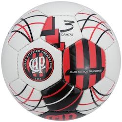 6c3e560f0a Bola De Futebol De Campo Euro Atlético-pr - Infantil - Branco vermelho