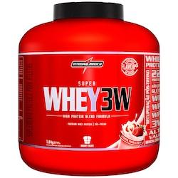 Whey Protein Integralmédica Super Whey 3W - Morango - 1,8Kg