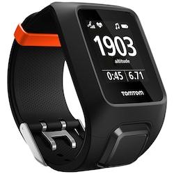 Relógio Monitor Cardíaco Com Gps Tomtom Adventurer Outdoor - Adulto - Preto