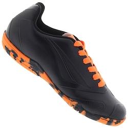 543341e405 Chuteira Futsal Penalty Victoria Rx Vi Black In - Infantil - Preto laranja