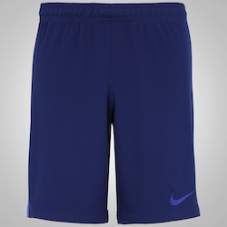 Bermuda Nike Squad K - Masculina - AZUL ESC/AZUL