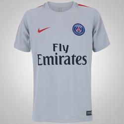 Camisa de Treino PSG 16/17 Nike - Infantil - CINZA CLARO