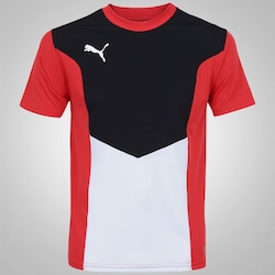 Camiseta Puma Football Training - Masculina - Vermelho/Preto