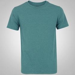 Camiseta Oxer Melange Confort - Masculina - PETROLEO