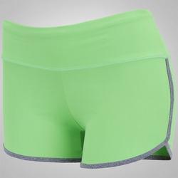 Shorts Oxer Go Fit - Feminino - VERDE CLARO/CINZA