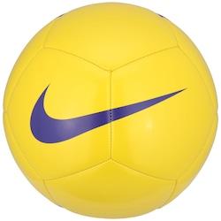 Bola de Futebol de Campo Nike Pitch Team - AMARELO/ROXO