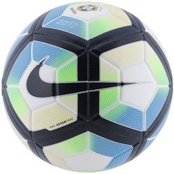 Bola de Futebol de Campo Nike CBF Strike SP17 - BRANCO/AZUL