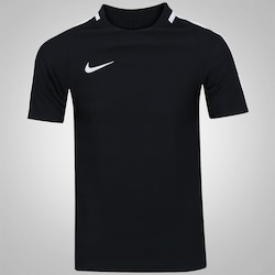 Camiseta Nike Dry Top SS Squad - Masculina - PRETO