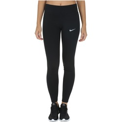 Calça Legging Nike Power Essential Run Tight - Feminina - PRETO