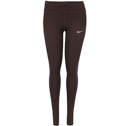 Calça Legging Nike Power Essential Run Tight - Feminina - VINHO