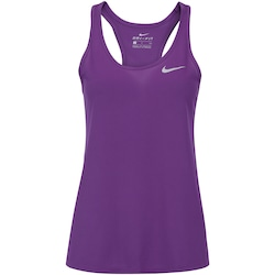 Camiseta Regata Nike Breathe Rapid Run - Feminina - ROXO ESCURO