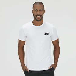 Camiseta Nike Black Mirror - Masculina - BRANCO