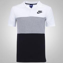 Camisa Polo Nike Matchup - Masculina - BRANCO/PRETO