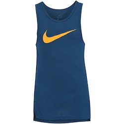 Camiseta Regata Nike Breathe Elite Top - Masculina - AZUL ESCURO
